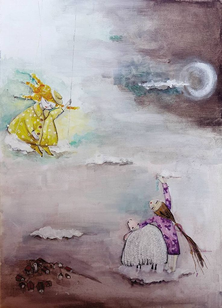 """Saatchi Art Artist Karda Zenkő; Painting, """"The Sun's dress"""" #art"""