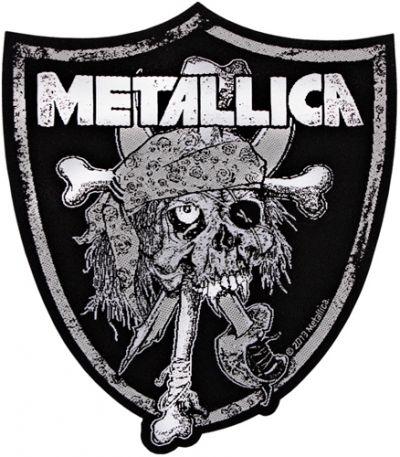 #Patch METALLICA - Raider Skull #metallica www.rockagogo.com