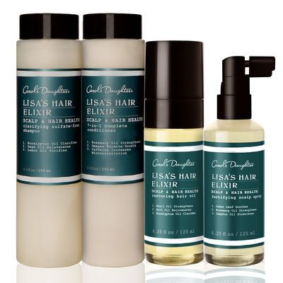 Lisa's Hair Elixir Healthiest Hair Set by Carol's Daughter #HairCareSet