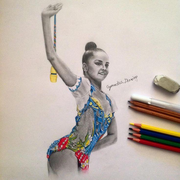 Arina Averina (Russia) by Gymnastics.Drawing