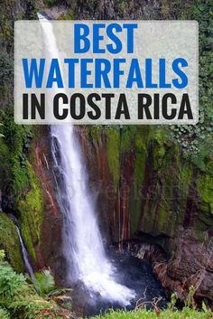 Our picks for the 8 best waterfalls in Costa Rica after traveling the whole country. Information on location, best places to visit from, and level of difficulty to reach. Use the map to find the closest one to you!
