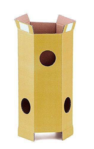 SuperCat Kitty Condo Add-On Tube, Yellow ** Learn more by visiting the image link.
