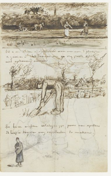 Van Gogh - letters/sketches