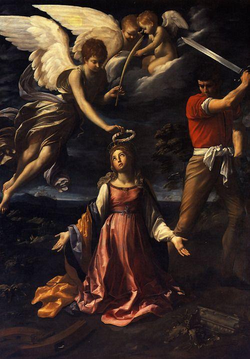 Guido Reni - Das Martyrium der Heiligen Katharina von Alexandrien (Martyrdom of Saint Catherine of Alexandria)