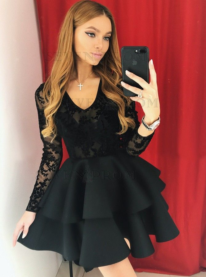 Dress With Sleeves Short
