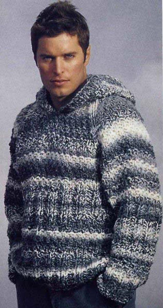 Men's hooded sweater crewneck v-neck men turtleneck hand