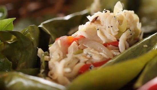 Pepes Ikan Teri Masakan Makanan Resep Masakan