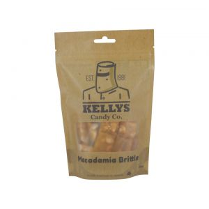A bulk box of Kellys Rocky Road Macadamia Bags.