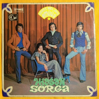 On Bang!: Orkes Melayu Omega - Hiasan Sorga (Indra, AKL-056, LP)