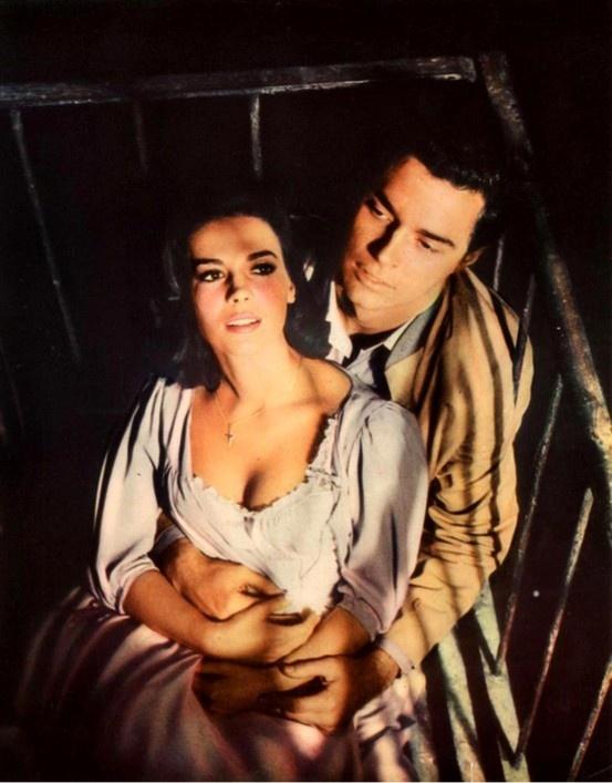 """""""West Side Story"""" (1961) - Maria (Natalie Wood) & Tony (Richard Beymer)"""