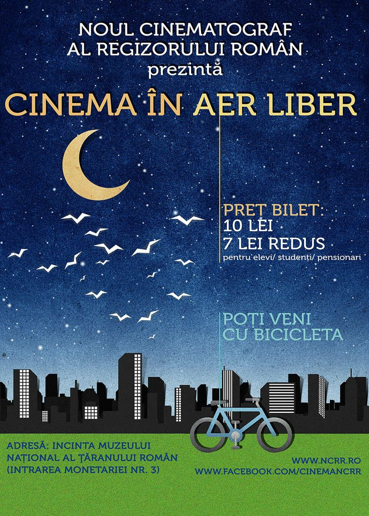 cinema in aer liber la NCRR
