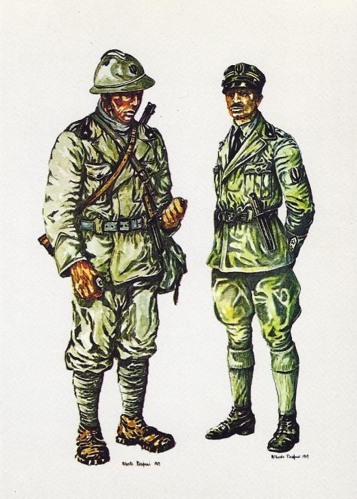 Regio Esercito - Arditi (truppe d'assalto d'elite) 1918