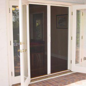 Magnetic Screen Door For Double Doors