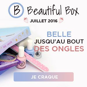 Beautiful box de juillet : le kit nail art de l'été