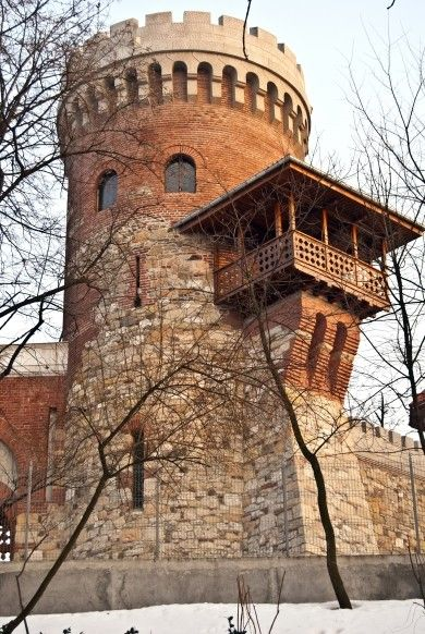 Vlad the Impaler's castle, Transylvania, Romania (Замок Влад Цепеш, в Трансильвании, Румыния)