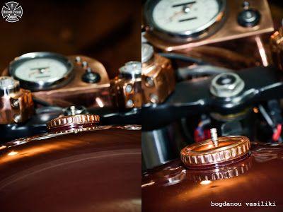 #honda #XR250 #convert to #cafe #racer by spiros litsas http://spiroslitsas.blogspot.com