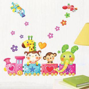 bambino figura muro adesivi murali bambino fumetto ragazza reale adesivi murali