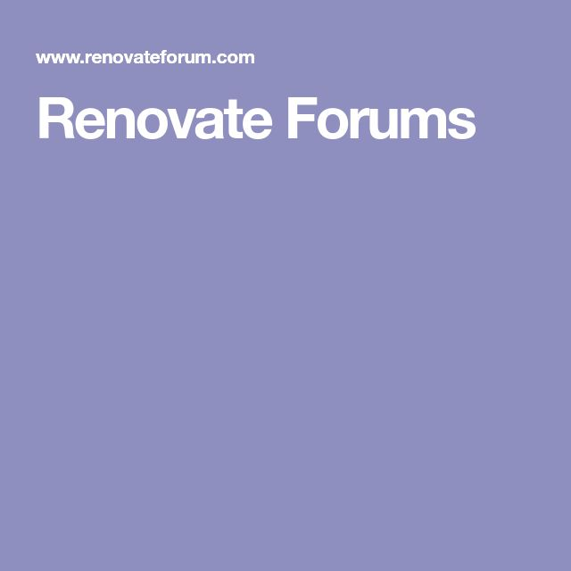 Renovate Forums