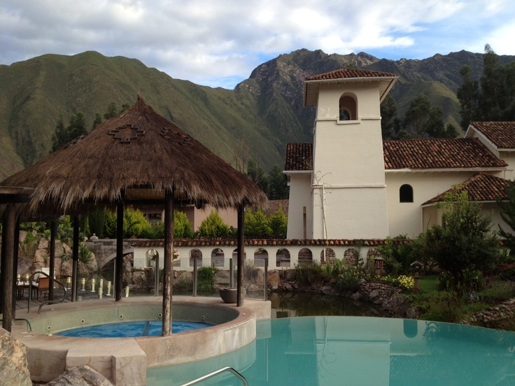 Aranwa hotel, Peru is set in luxurious grounds at the foot of the mountains http://www.thebigjourneycompany.com/peru_escorted_tour_holiday