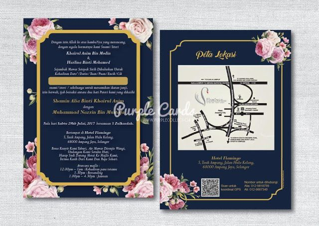 Wedding Card Malaysia By Purple Cards Wedding Cards Wedding Invitation Cards Kad Kahwin