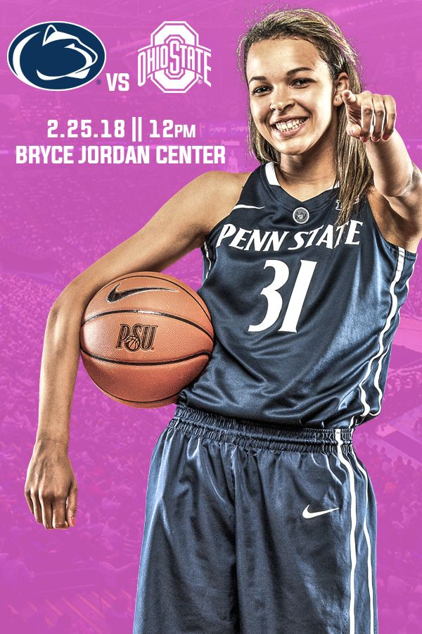 Get #LockedIn for the Pink Zone Game! Buy tickets today for Ohio State at Penn State on Feb. 25 at 12 pm.