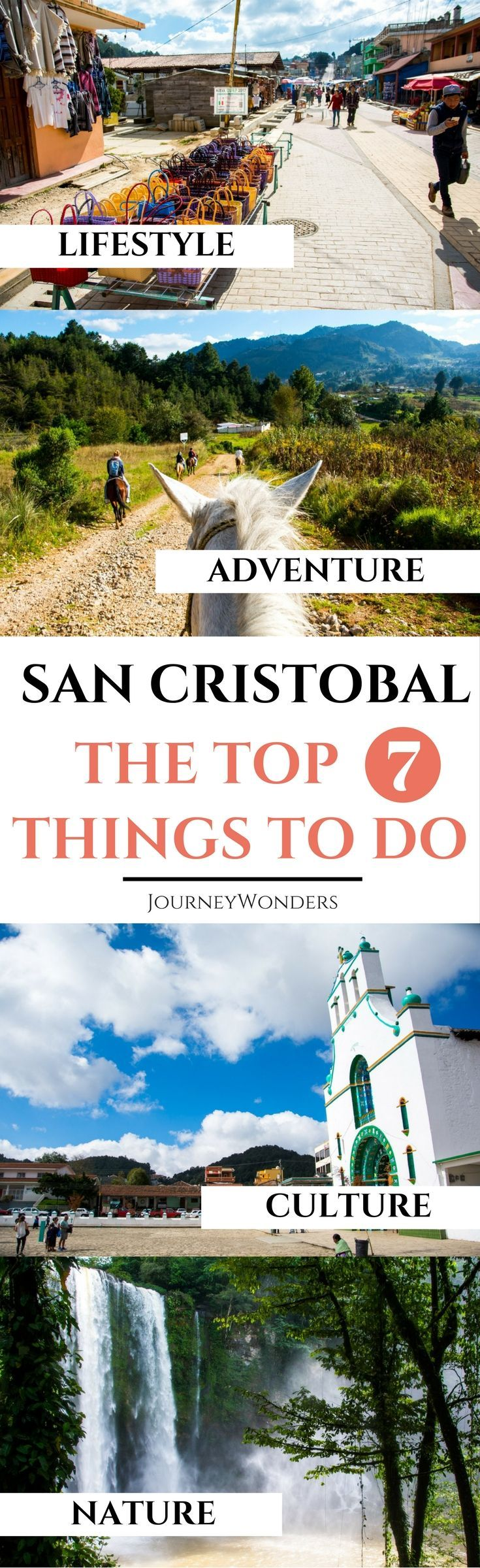 When it comes to things to do in San Cristobal de las Casas, trust me when I say that you will never be disappointed; whether you favor adventure, culture, nature or shopping, you will find all of that and more in the crown jewel of Mexico's magical towns. Ready to explore it? #Chiapas #Mexico #Palenque #SanCristobaldelasCasas via @journeywonders