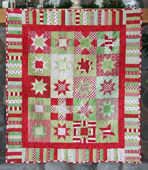 Bright Christmas quiltChristmas Inspiration, Quilt Inspiration, Quilt Ideas, Holiday Quilt, Christmas Fabrics, Christmas Quilt, Cluck Cluck Sewing, Christmas Colours, Christmas Ideas