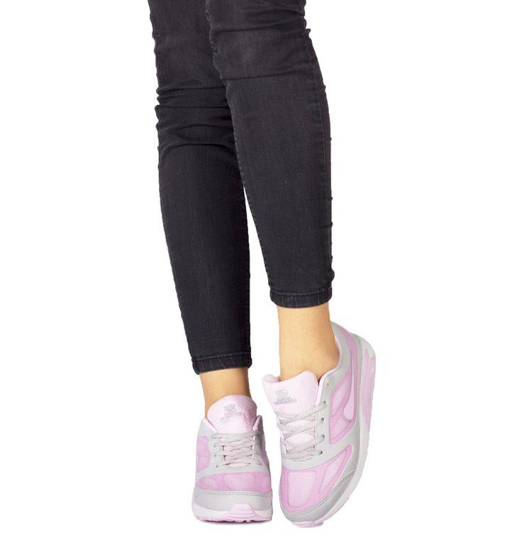 Różowe Buty Sportowe Chica Nilda - born2be.pl