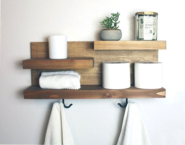 Best Wall Decoration Idea Wood Floating Box Shelves Diy Project Guide In 2020 Bathroom Storage Shelves Bathroom Shelves Shelves