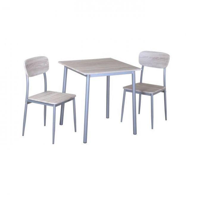 Price Factory Set Ensemble Table Et Deux Chaises Toulon Ideal Inside Petite Table De Cuisi Chaises De Table A Manger Table Cuisine Ensemble Table Et Chaise
