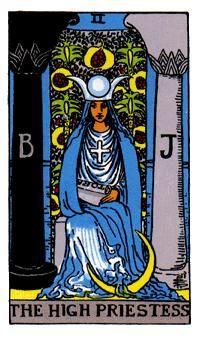 LA SACERDOTISA, Significado de las cartas del Tarot