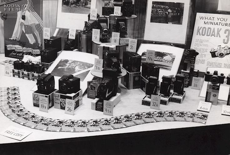 The Kodak Heritage Collection contains a rich visual and archival record of Kodak Australasia's early retail displays from across the country. The company had uniform approach to marketing and visual merchandising across all Kodak retail outlets, governed by a marketing management team based first in Sydney and later in Coburg, Melbourne