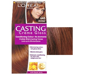 casting crme gloss 645 amber wwwloreal pariscouk - Coloration Miel Ambr