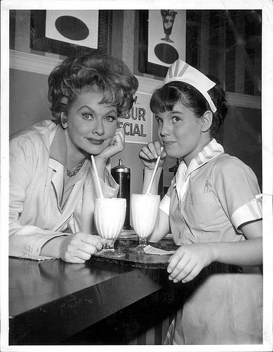 Lucy and Lucie - Early 1960's | Lucille ball