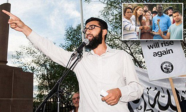 A radical Islamic group that wants Sharia law has likened Australia Day to a celebration of terror and genocide Hizb ut-Tahrir also ripped into the lamb ad for rewriting history of European invasion.