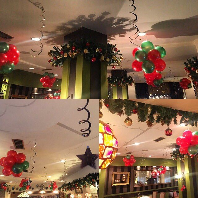 Awesome New Year Home Decoration To Have With Flowers And Balloons