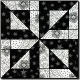 Betty's Delight : A traditional block from Marcia Hohn's Quilter's Cache ~ An interesting tradtional block!