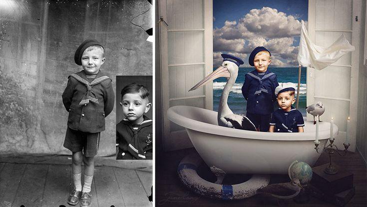 jane long colorie revisite de vieilles photos noir et blanc 5   Jane Long colorie et revisite de vieilles photos noir et blanc   WWI vintage...