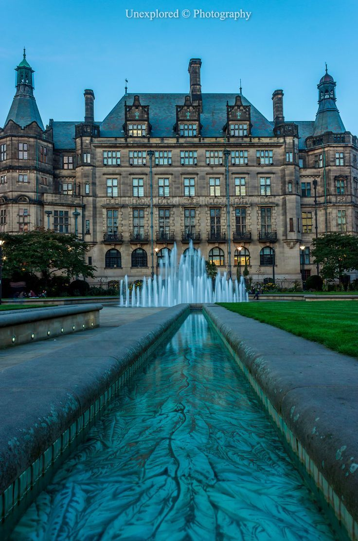 England Travel Inspiration - Peace Gardens, Sheffield, Yorkshire, England