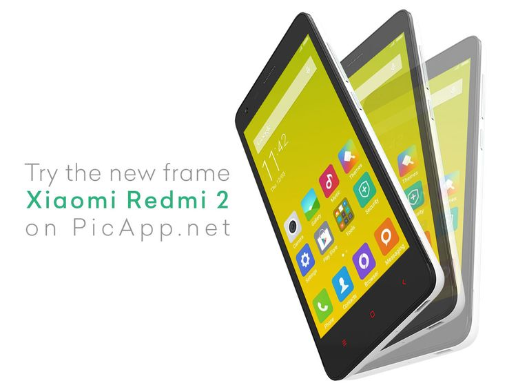 Try the new frame Xiaomi Redmi 2 on Picapp.net. We prepared for you amazing perspectives and cool colors. Go to Picapp.net, choose what frame you like, upload your new iOS app screenshot and then download your final image in PC. Try it and tell us what you think. #picapp #mockup #xiaomi #perspective #redmi2