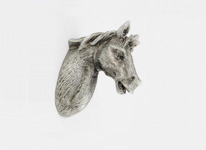 Antique Silver Drawer Knobs Animal Horse Cabinet Knobs Dresser Knobs Drawer  Pull Handles Pulls Handle Unique