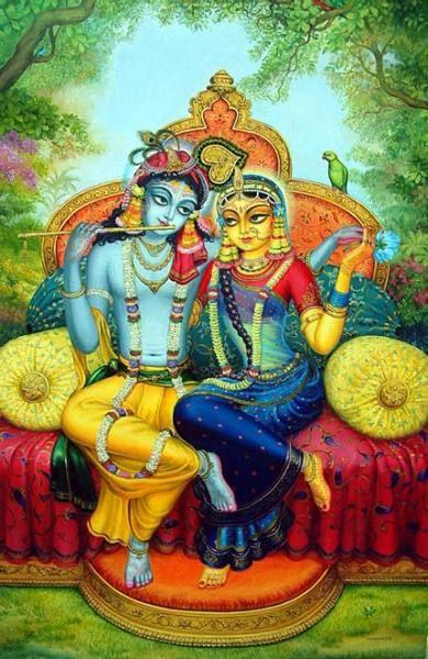 Radha y Krisnha