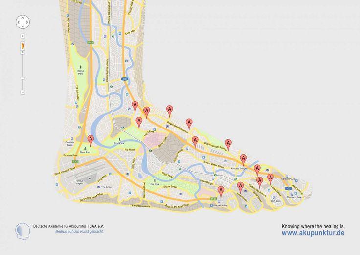 Deutsche Akademie für Akupunktur: Foot