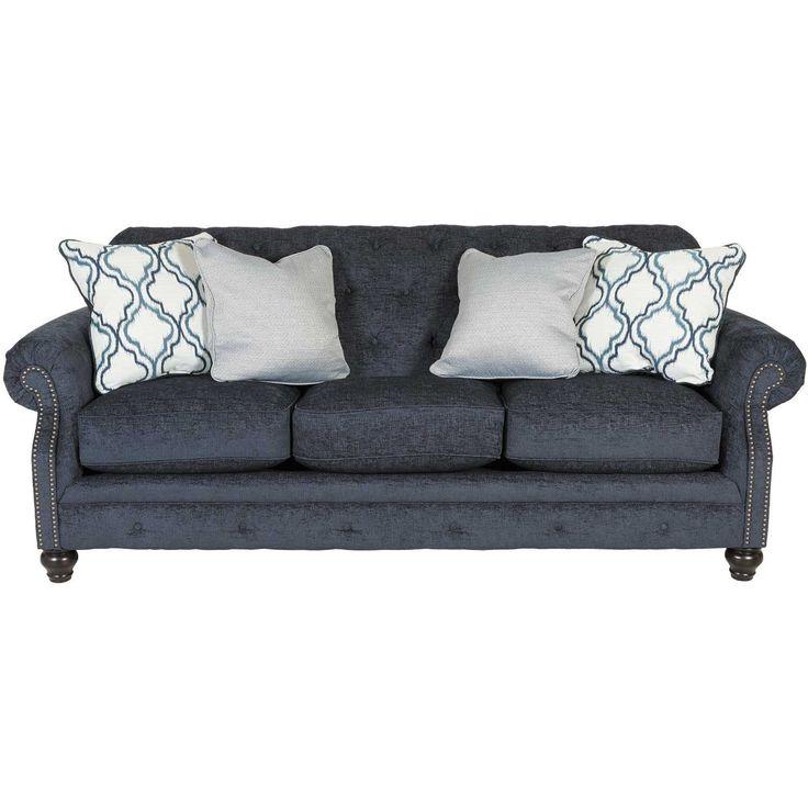LaVernia Slate Tufted Sofa | Ashley Furniture | 7130438   American  Furniture Warehouse