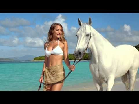 Hannah Davis and Her Horse Walking - DIRECTV Commercial - YouTube