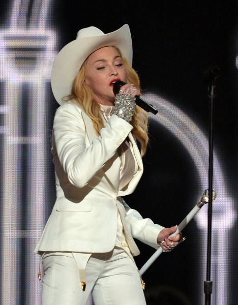 Our Favorite 2014 Grammy Moments! He was soon joined by Mary Lambert and Madonna.