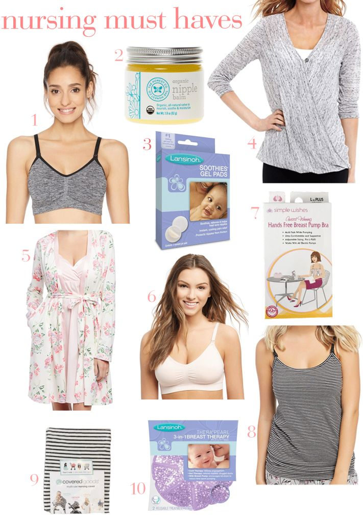 I'm a second-time mama, sharing my favorite nursing must haves.