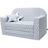 Lulando Classic Children Sofa Bed Convertible Sofa for children Flip Sofa Sleep and Play 2 pillows