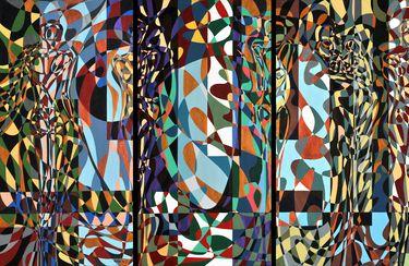 "Saatchi Art Artist Graziella Coi; Painting, ""Questa giungla mi distrugge/ This jungle destroys me"" #art"