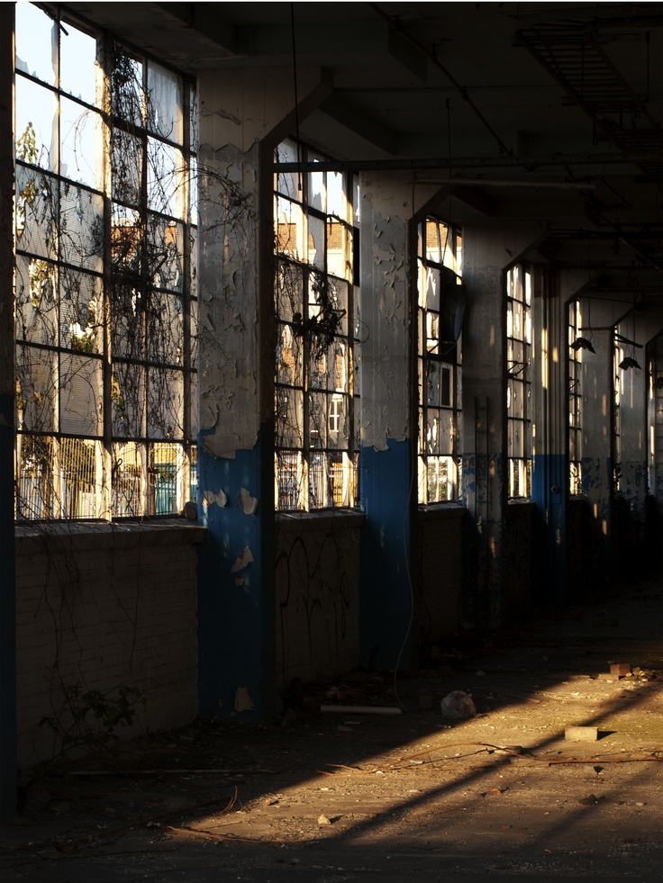 Old warehouse set idea